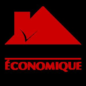 Logo isolation %c3%a9conomique qu%c3%a9bec noir